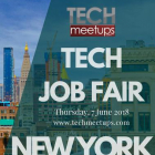 New York Tech Job Fair 2018