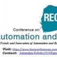 Automation and Robotics Conference 2019