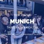 MUNICH TECH JOB FAIR SPRING 2019