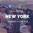 NEW YORK TECH JOB FAIR SPRING 2019