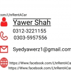 Lahore rent a car Application