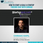 How to start and scale a startup