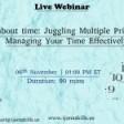 Juggling Multiple Priorities, Managing Y