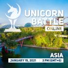 242 Unicorn Battle in Asia, January 19 2021